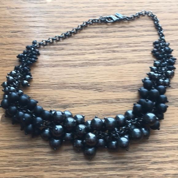 4c7122261c36af Lia Sophia Jewelry | Chunky Black Pearl Necklace | Poshmark